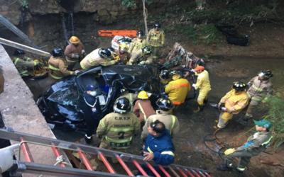 Joven perdió la vida tras accidente registrado en San Lorenzo