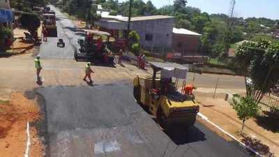Obras viales beneficiarán a más de 40.000 personas en Campo 9