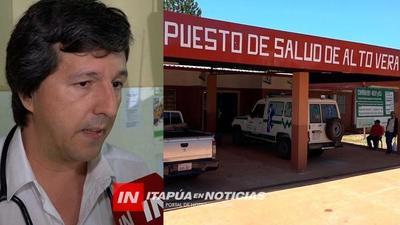 BUSCAN CONVERTIR EN CENTRO DE SALUD EL PUESTO DE CARONAY.