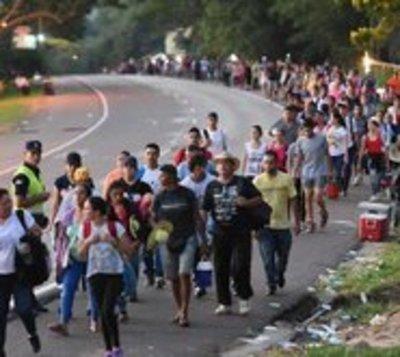 Este año hubo menos fieles según Gobernador de Cordillera