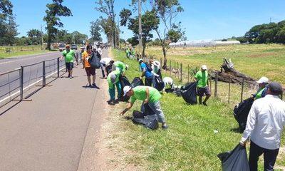 Retiran 25.000 kilos de basura luego de peregrinación a Caacupé