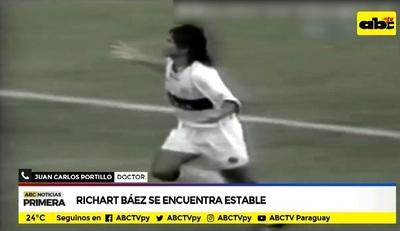 Actualizan estado de salud de Richard Báez