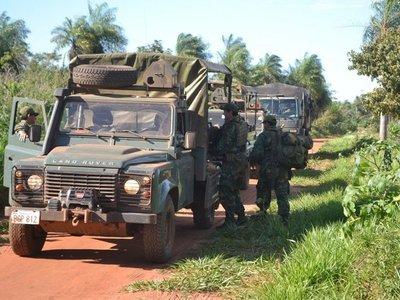 Miembros del EPP trasladan bases de operaciones al sur de San Pedro