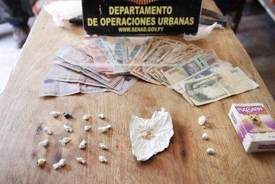 Detienen a mujer de 72 años que distribuía crack en Lambaré