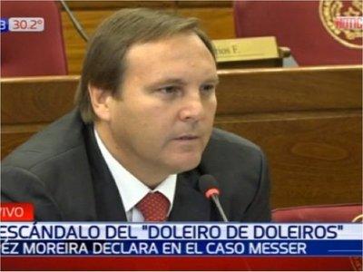 Caso Messer: López Moreira declaró ante Comisión Bicameral