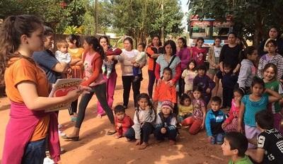 Jóvenes convocan a voluntarios para ayudar a construir una escuela