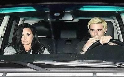 Hallan a Demi Lovato a los besos con Henry Levy