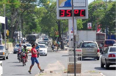Anuncian continuidad de clima extremadamente caluroso y chaparrones