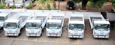 Essap recibe nueva partida de camiones para mejorar respuesta a reclamos