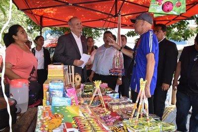 Municipalidad busca evitar venta clandestina de explosivos dentro de los mercados