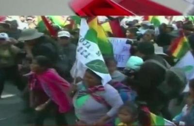 Las protestas callejeras no cesan en Bolivia