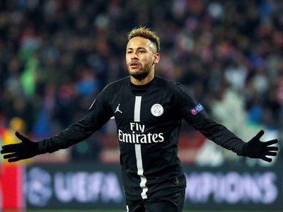 Neymar establece un récord en la Champions