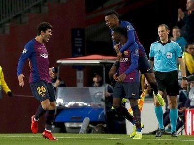 Dembélé y un golazo en modo Messi