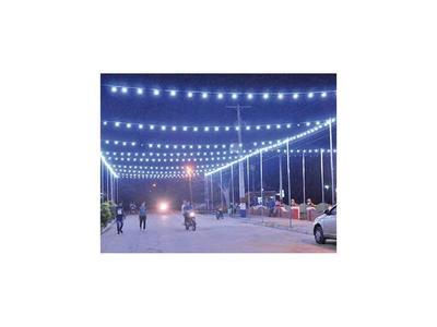 Puerto Casado tiene su paseo de las luces