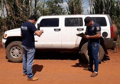 Recuperan camioneta robada en Asunción