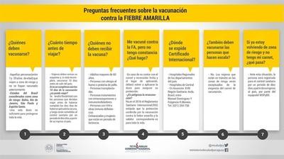 Inician operativo contra fiebre amarilla