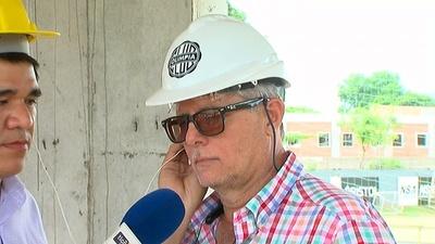 Centro de entrenamiento en Villa Olimpia va creciendo