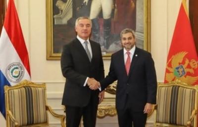 Paraguay y Montenegro estrechan relaciones bilaterales