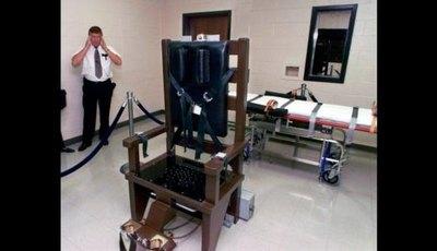 Ejecutan a preso con la silla eléctrica en EE. UU.