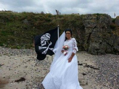 Se divorció del póra con el que se casó
