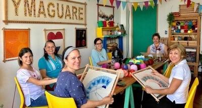 HOY / Concluye el taller de ñanduti en la Manzana de la Rivera