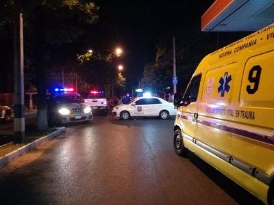 Se entregó conductor que atropello a joven en Villa Elisa