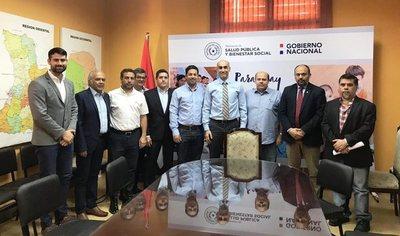 Capaco y Salud Pública firmarán convenio para elaboración de proyectos