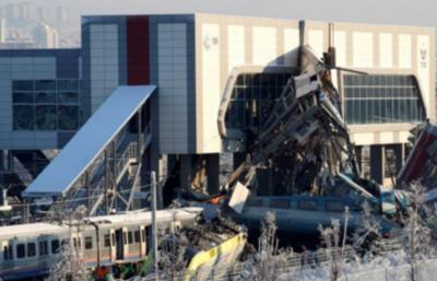 Accidente de tren en Ankara deja muertos y heridos