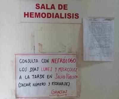 Pacientes renales serían trasladados a Pedro Juan Caballero para su hemodialisis