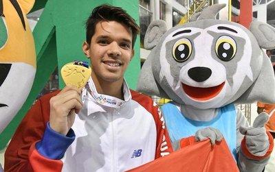 Matías López recibió el premio a deportista del año