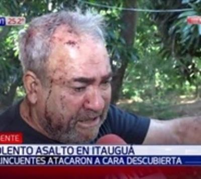 Malvivientes asaltaron violentamente a una familia en Itauguá