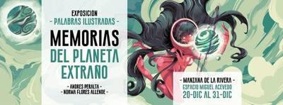 """Andrés Peralta presenta """"Palabras ilustradas"""""""