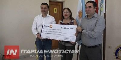 ROTARY CLUB RINDIÓ CUENTAS DE LA GRAN COMILONA REALIZADA EN SETIEMBRE PASADO