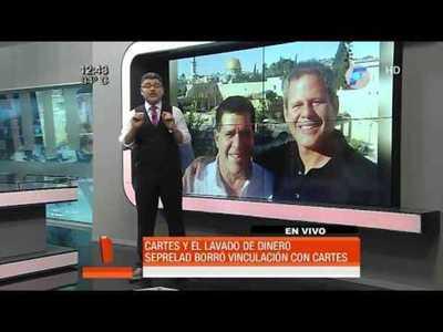 Seprelad borró a Horacio Cartes del informe sobre Darío Messer