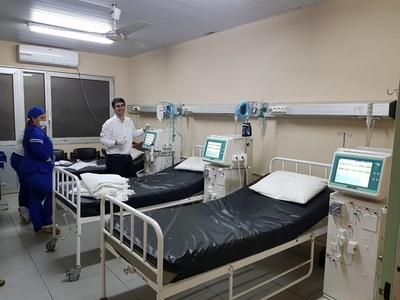 Concepción cuenta nuevamente con el servicio de hemodiálisis