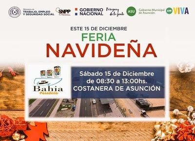 Preparan feria navideña para montar una panadería comunitaria en la Chacarita