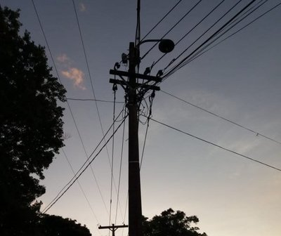 Alumbrados públicos sin luces