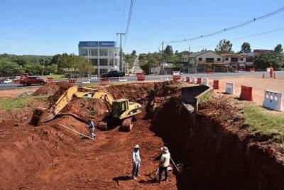 Histórico, inician construcción del tunel para paso vehicular en Campo 9 – Prensa 5