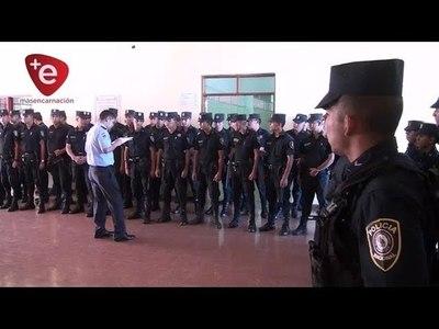 OPERATIVO VERANO: LLEGARON A ITAPÚA 66 AGENTES POLICIALES