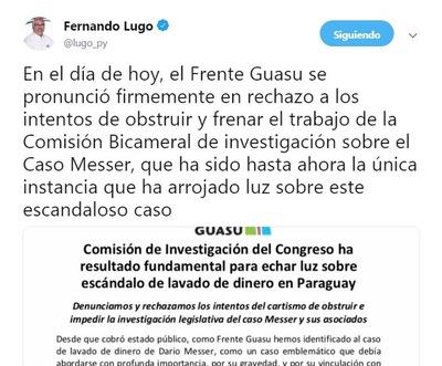 Ahora, Lugo se pone a disposición