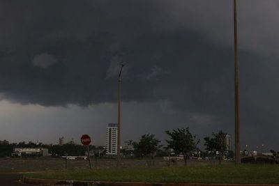 Anuncian tormentas para 6 departamentos