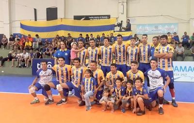 Sportivo Luqueño es el campeón absoluto en vóley masculino