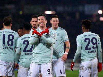 El Bayern golea al Hannover y le da caza al Gladbach