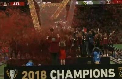 La loca celebración del Atlanta United