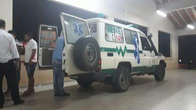 Trasladan a herido hasta la capital del país – Prensa 5