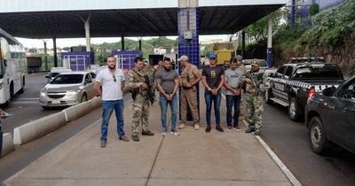 Expulsan jefe narco brasileño del Primer Comando Puro