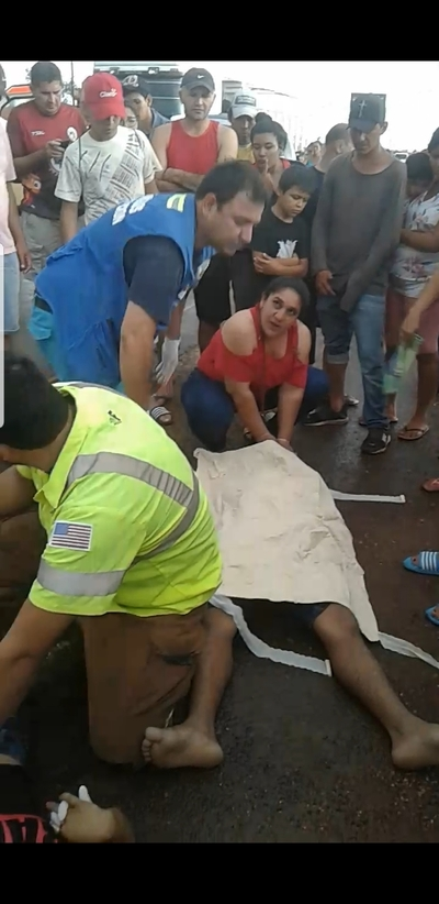 Fatal accidente se cobra la vida de un joven