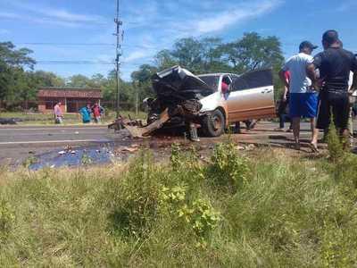 Accidente deja dos heridos en zona de Saro Karo – Prensa 5