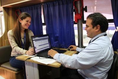 PAC Móvil ofrece servicios gratuitos en Canindeyú