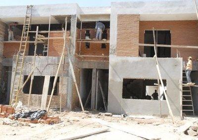 Construcciones, con alto índice de informalidad laboral